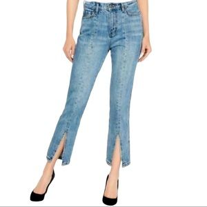 Buffalo Size 29 Ivy High Rise Cropped Jeans
